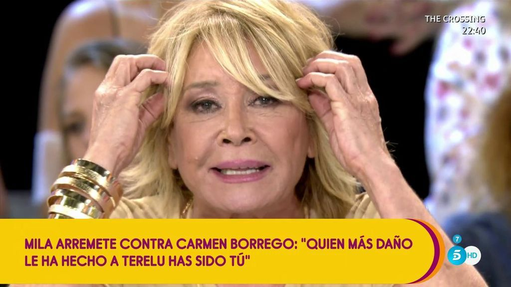 """Mila Ximénez carga contra Carmen Borrego: """"Creo que eres la menos indicada para meterle mierda a tu hermana Terelu"""""""