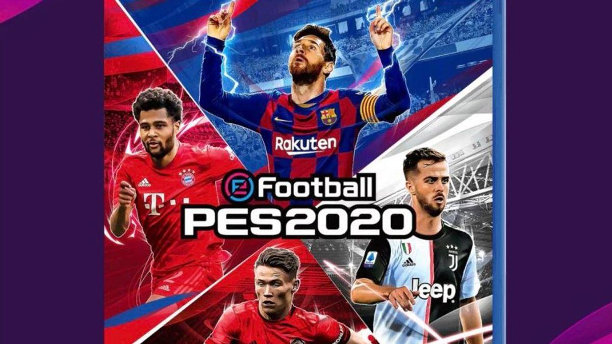 eFootball PES 2020 ya tiene demo y portada