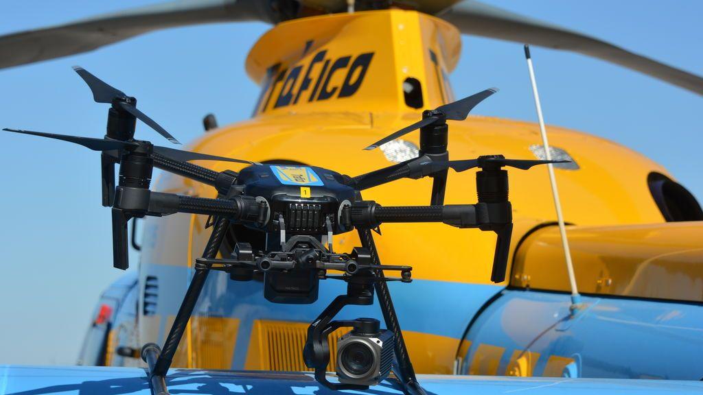 La DGT comienza en agosto a multar con drones