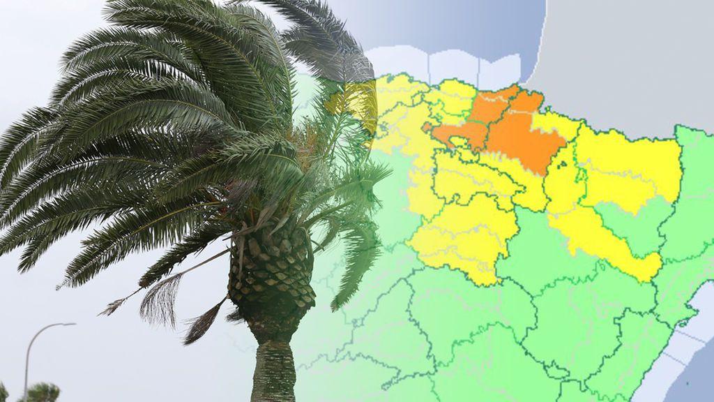 Alerta tormentas: hay avisos naranjas en el valle del Ebro y se prevén 'meteotsunamis'