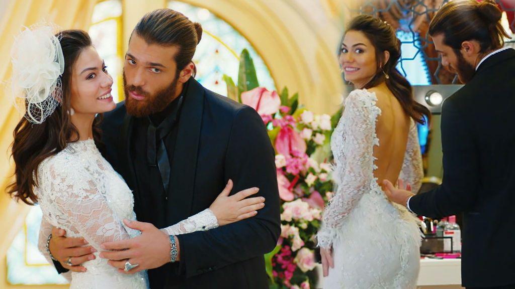 Los vestidos de novia de Sanem