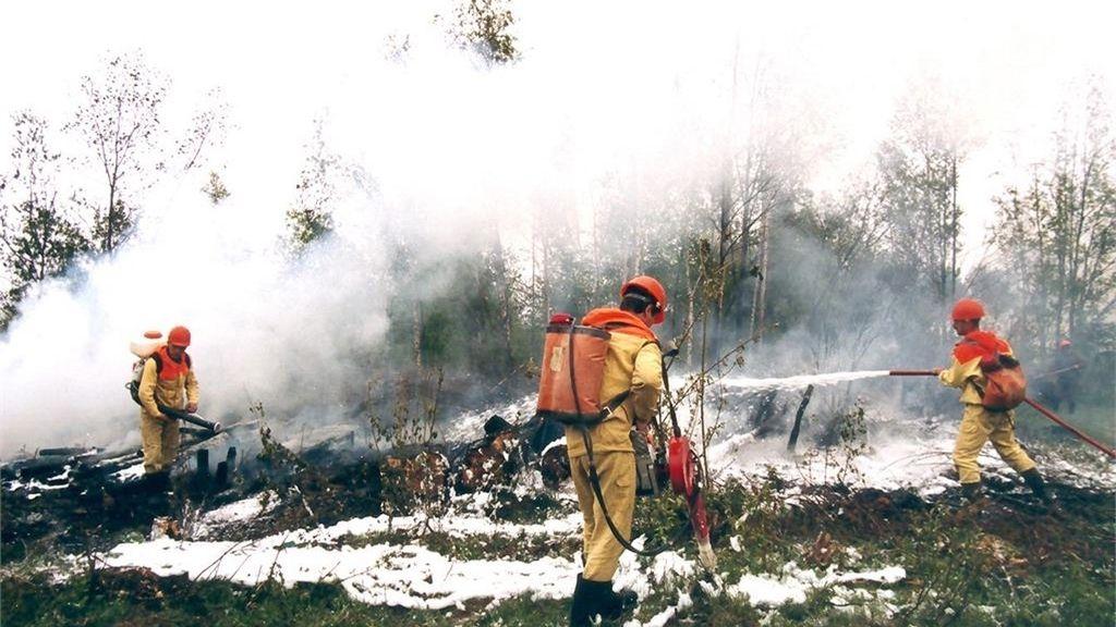 Las impactantes imágenes que han dejado los incendios de Siberia