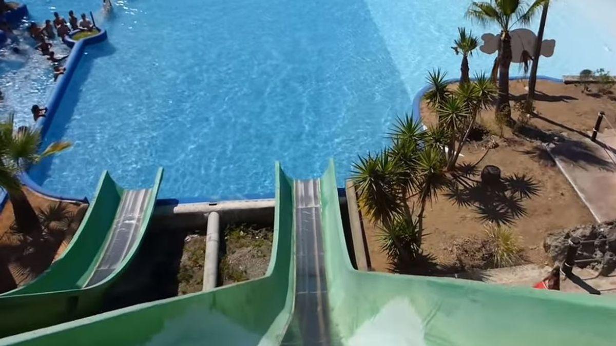 El trágico accidente de una joven en un parque acuático de Mallorca: se rompe la columna y pierde 10 centímetros de altura