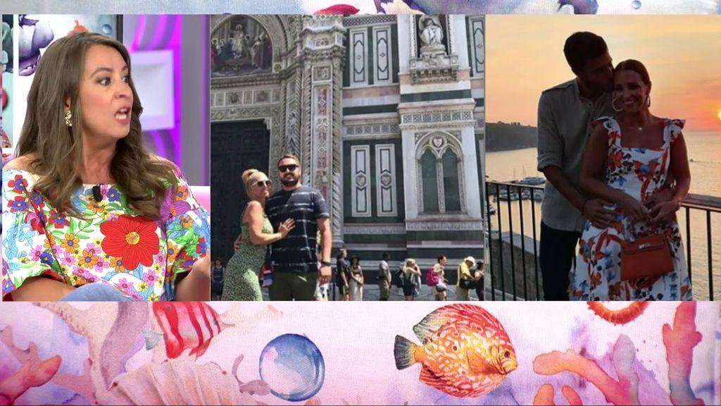 Así han sido las románticas y diferentes vacaciones de Paula Echevarría y Belén Esteban en Italia