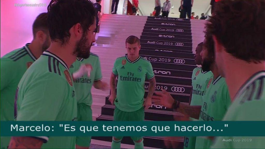 La Conversacion Entre Los Jugadores Del Real Madrid En El Vestuario Una Falta Y Ya Esta No Pasa Nada Por Hacer Faltas