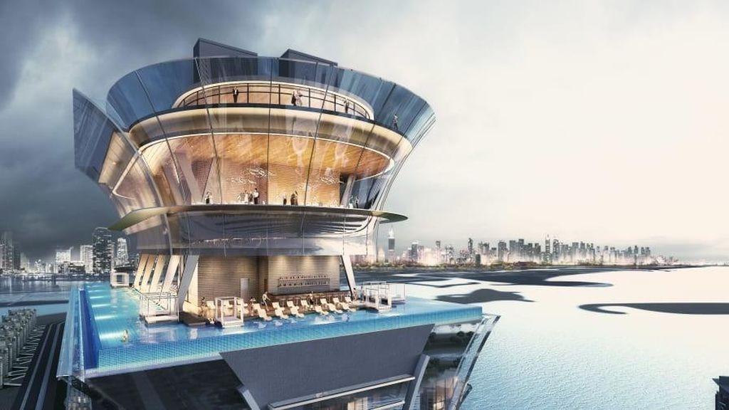 La última locura dubaití: una 'infinity pool' en un piso 50 para ver la ciudad como desde el espacio