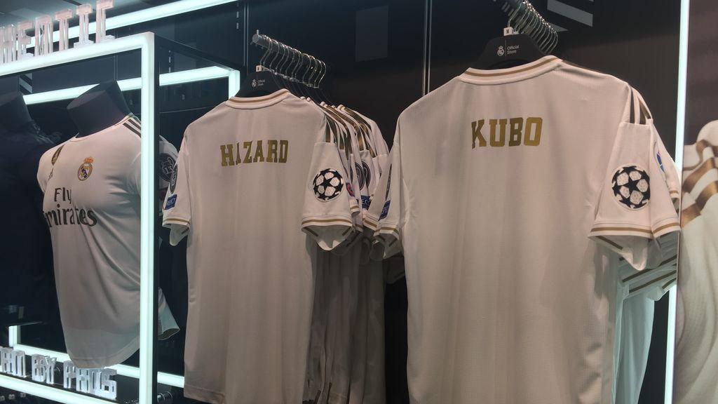 Kubo, de novato a ilusión del madridismo: es el gran reclamo en las tiendas del Real Madrid