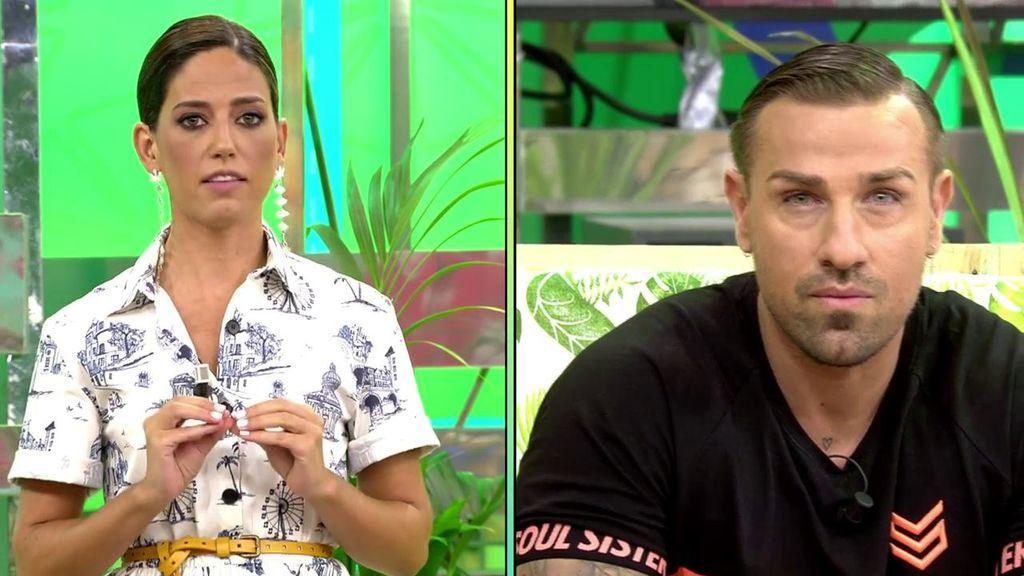 Nuria Marín revela que Rafa Mora en su segundo día en 'Cazamariposas' se negó a hacer algo muy importante que forma parte de las tareas de un presentador