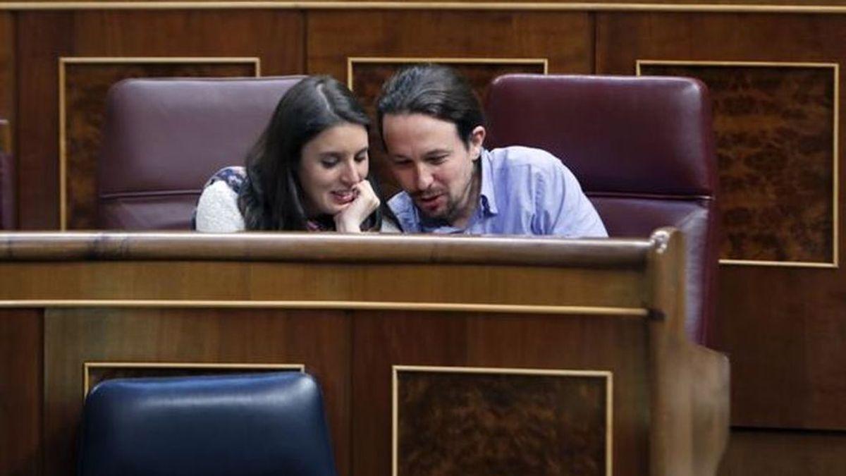 Pablo Iglesias e Irene Montero dan la bienvenida a su tercer hijo, Aitana