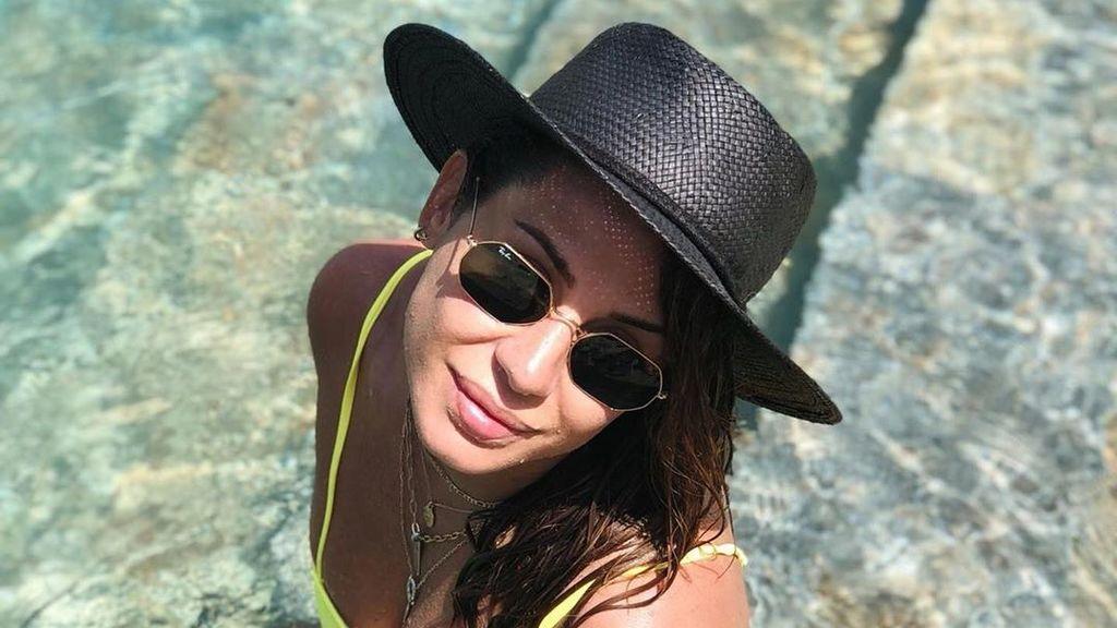 Elena Tablada y su hija Ella disfrutan de unas vacaciones de chicas en Ibiza