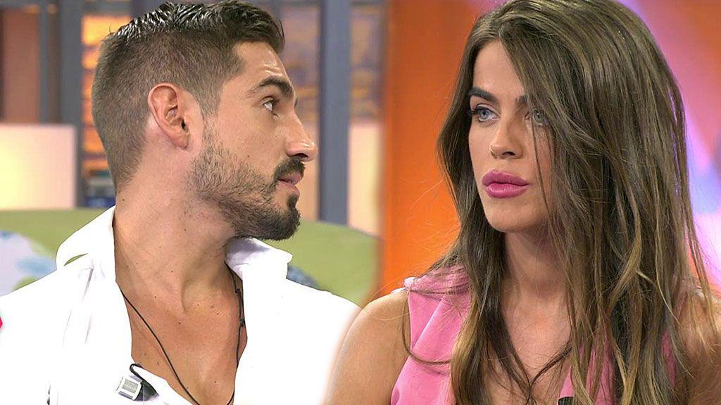 Violeta y Fabio, primera crisis: entran al plató enfadados