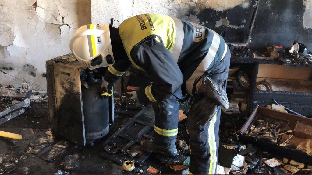 Incendio en una vivienda en Madrid:  una mujer de 78 años ha fallecido y 80 personas han sido desalojadas