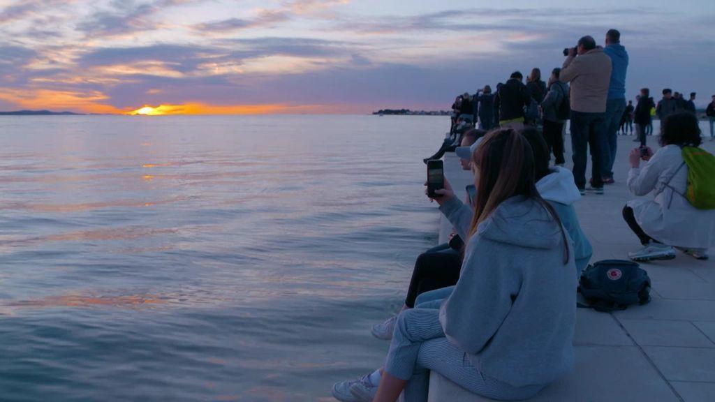 Alfred Hitchcock lo tiene claro: la puesta de sol más bonita del mundo está en Zadar