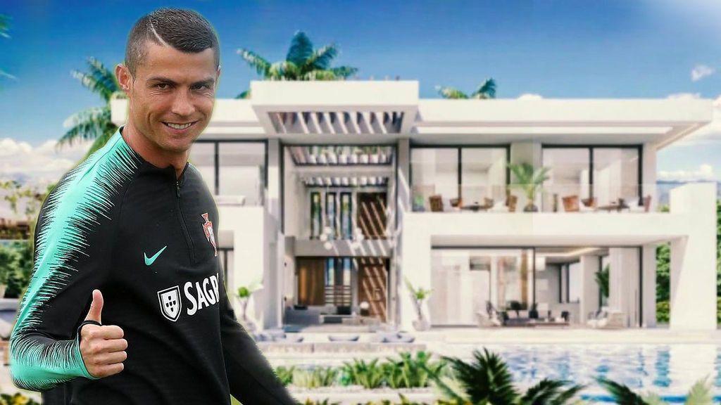 Así es la impresionante mansión que se ha comprado Cristiano Ronaldo en Marbella