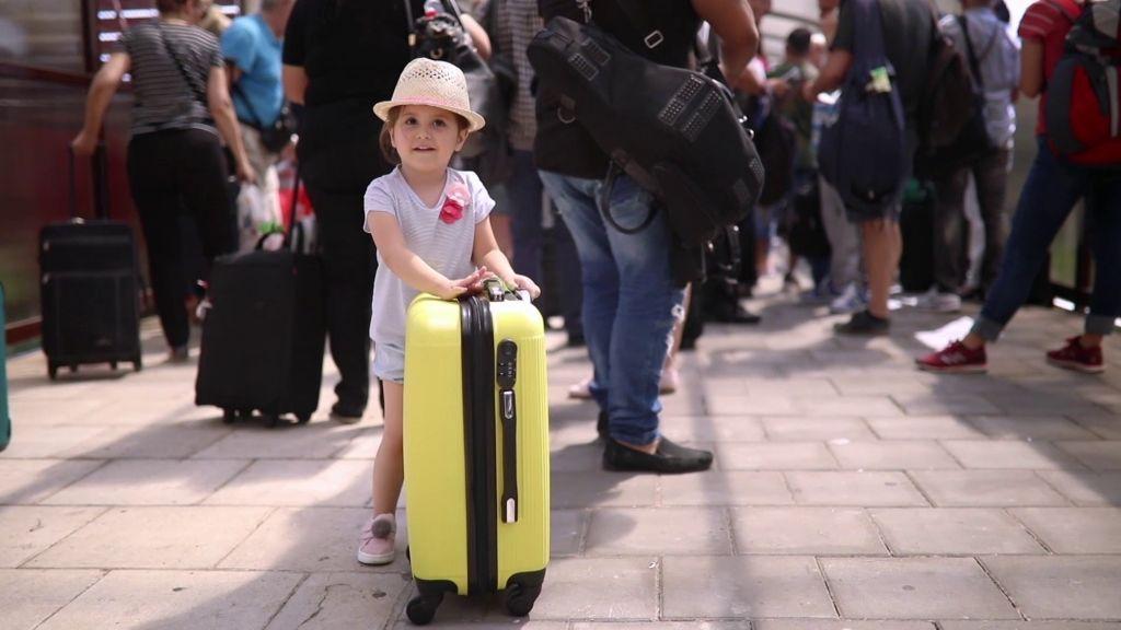 Las vacaciones de hijos de padres separados