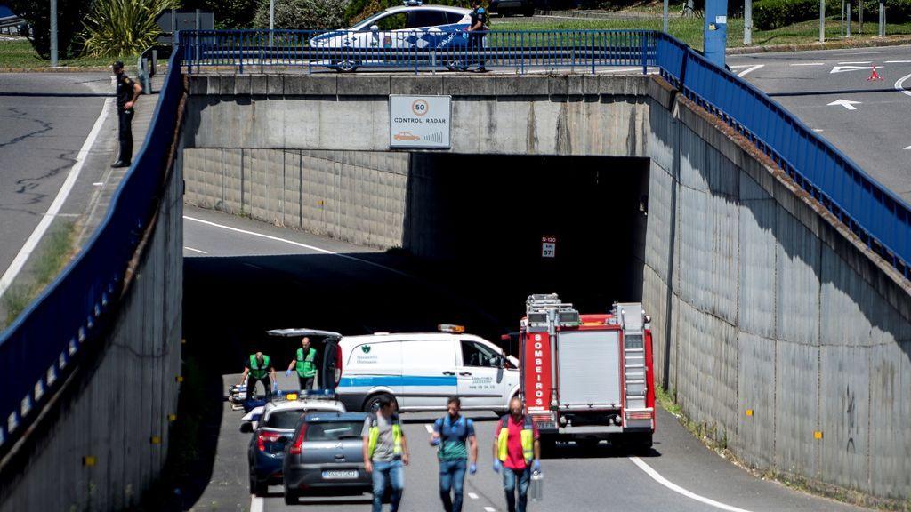 Investigan la muerte de una madre y su hijo tras precipitarse desde una pasarela en Ourense
