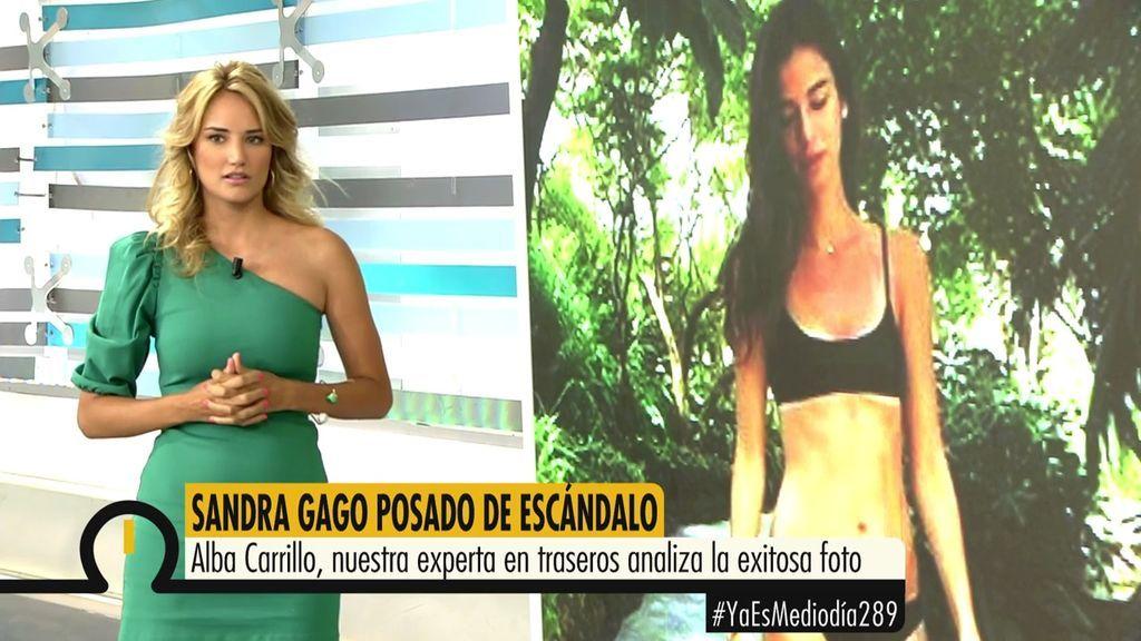 """Alba El En Cañón Sandra Carrillo De Alaba Cuerpo Gago Bikini""""está 29WIEDH"""