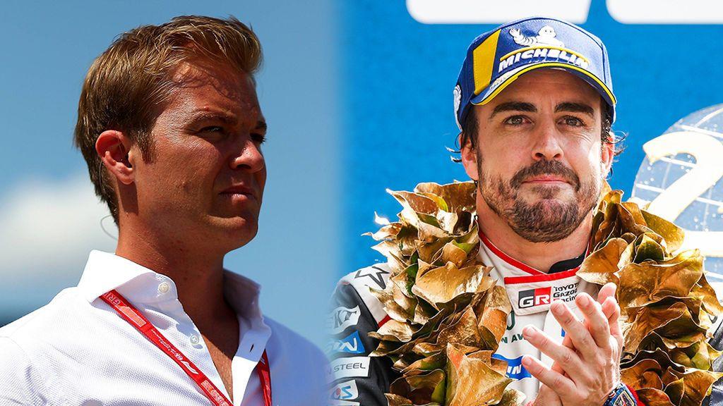 Nico Rosberg propone realizar una petición popular para que Mercedes fiche a Fernando Alonso para 2020