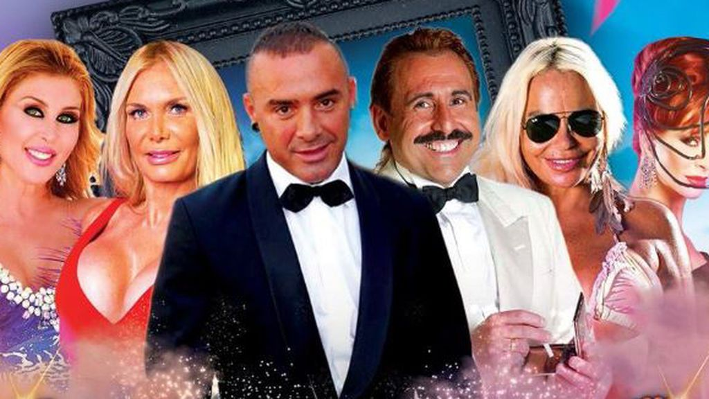 Dinio, Yurena, Juan Miguel, Malena Gracia y Yola Berrocal reviven 'Hotel Glam' con una reunión épica