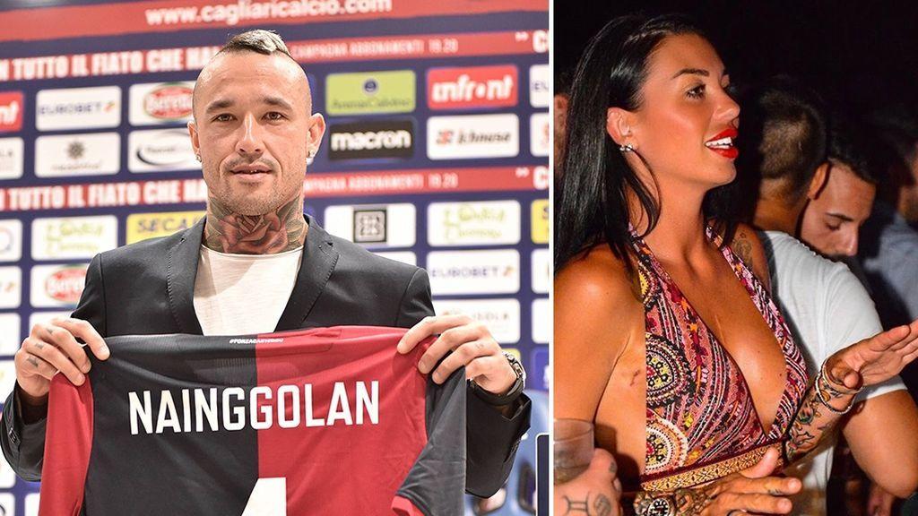 Nainggolan ficha por el Cagliari para acompañar a su mujer, que recibe sesiones de quimioterapia en esa ciudad para curar el cáncer