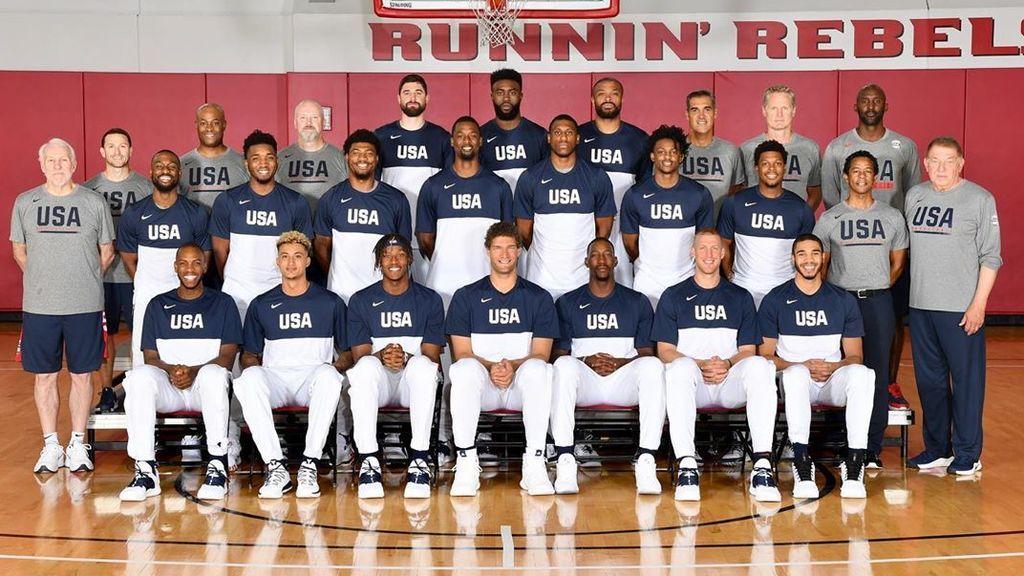 Uno a uno: Conoce a la plantilla de Estados Unidos para la Copa del Mundo FIBA