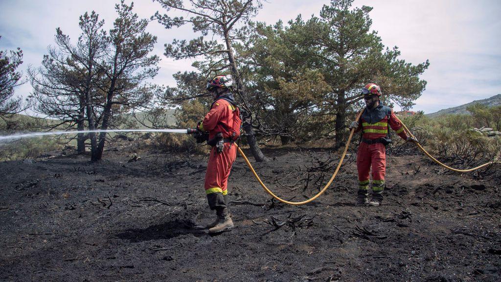Controlados los incendios de Guadarrama, Miraflores de la Sierra y Rascafría