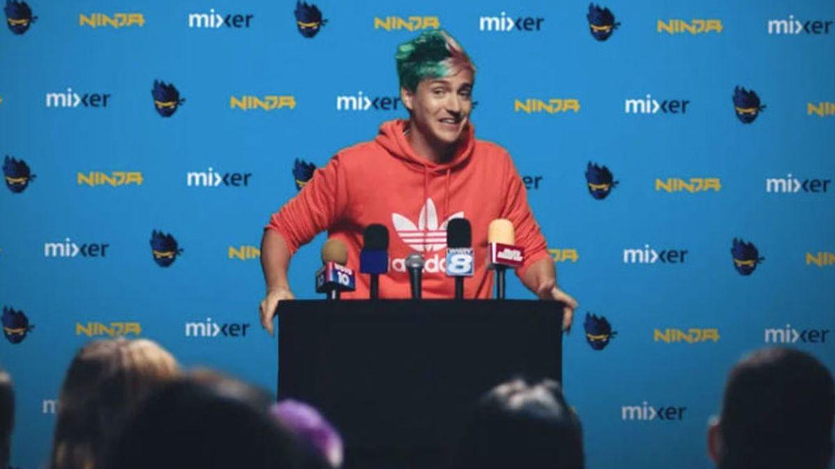 Ninja ficha por Mixer y consigue 1 millones de seguidores en 5 días