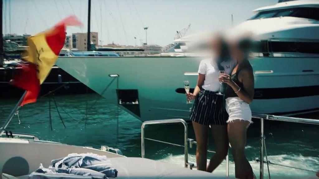 Una empresa ofrece servicios de prostitución en barcos