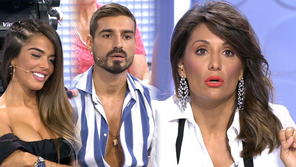 Violeta y Fabio coincidirán con la exnovia de este en Ibiza, según Nagore Robles