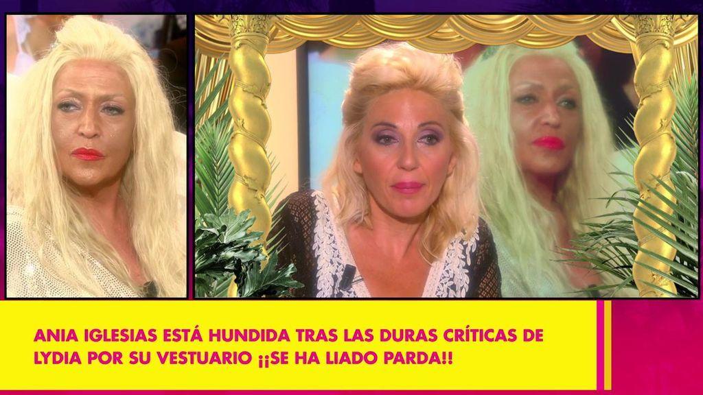 """Ania Iglesias a Lydia Lozano tras su rifirrafe: """"Me duele en prenda que haya sucedido esto porque se pone en tela de juicio mi trabajo"""""""