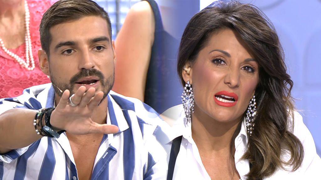 """Nagore se enciende con los celos de Fabio: """"Ese control con Violeta no es sano"""""""