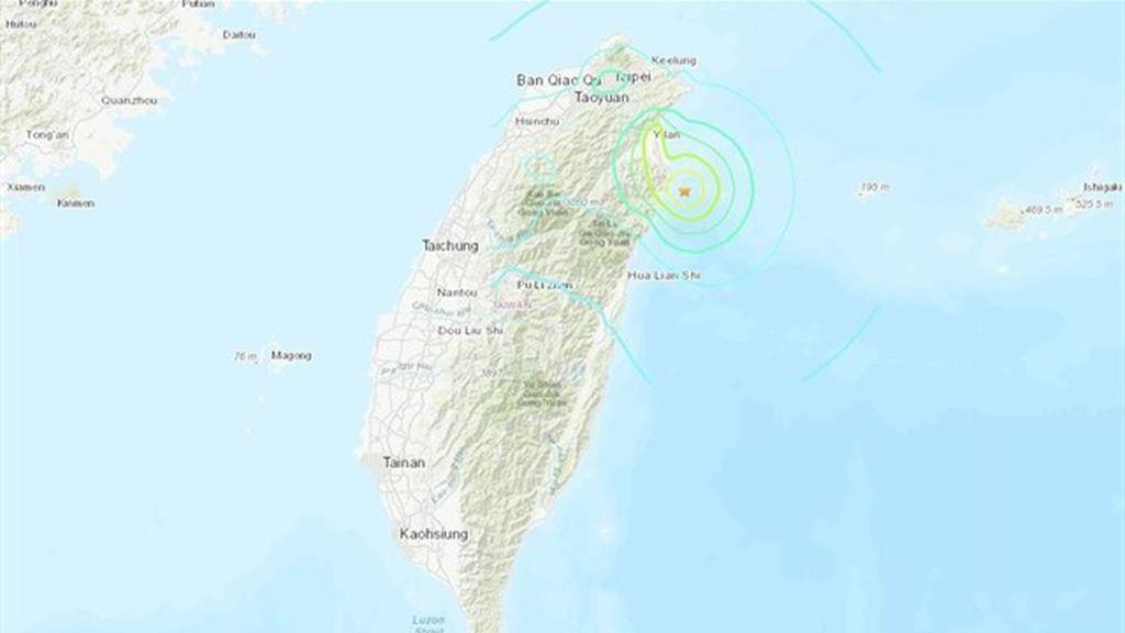 Un terremoto de magnitud 6 sacude Taiwán