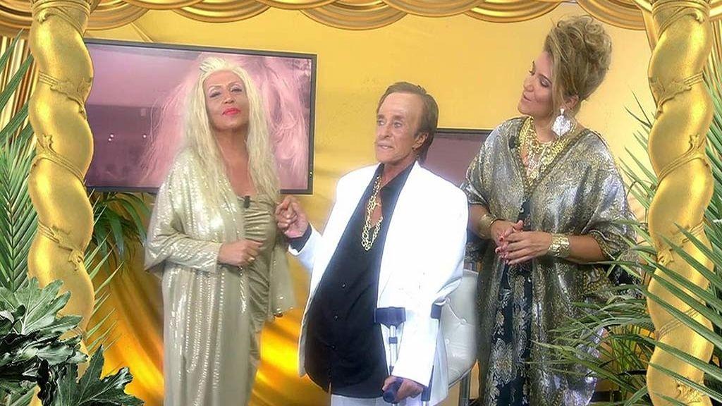 Oros, brillos y diamantes en el especial 'Sálvame Marbella y tal y tal'