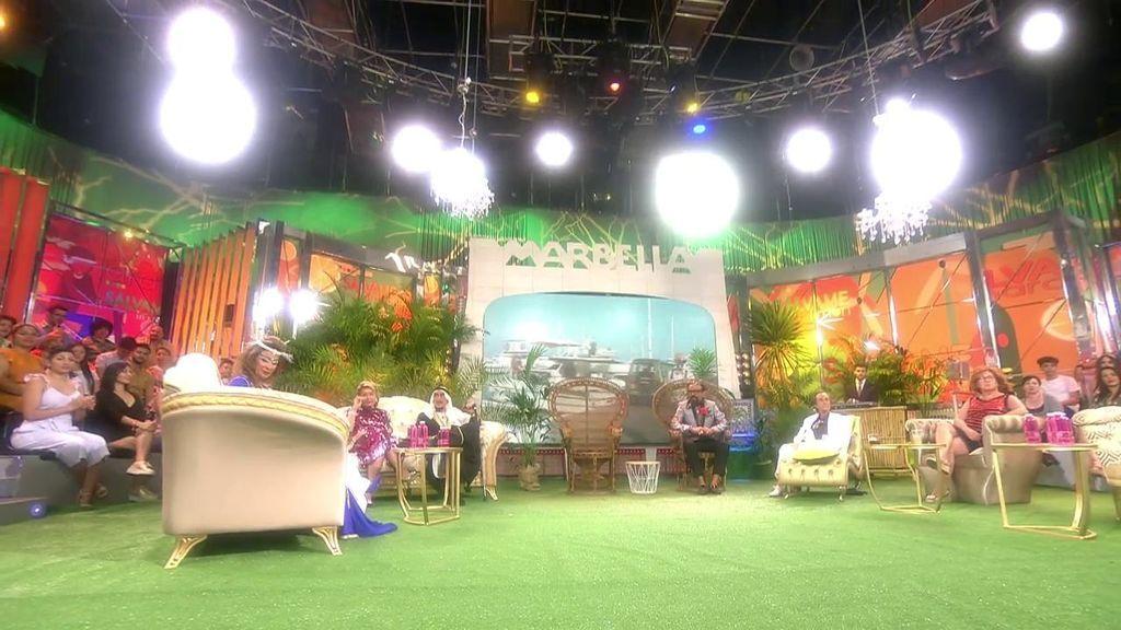 Plató 'Sálvame Marbella tal y tal'