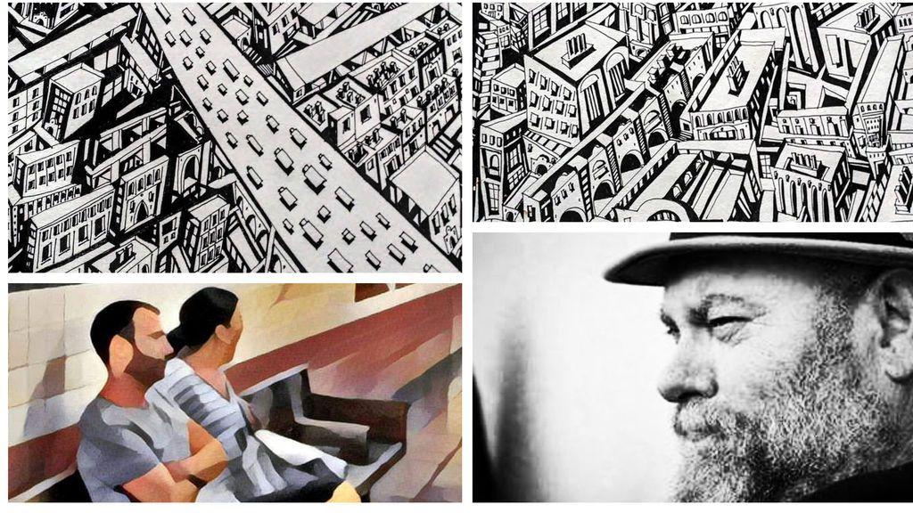 La historia de Toni: se quedó en el paro a los 57 y ahora su hijo le ha hecho famoso por su talento dibujando