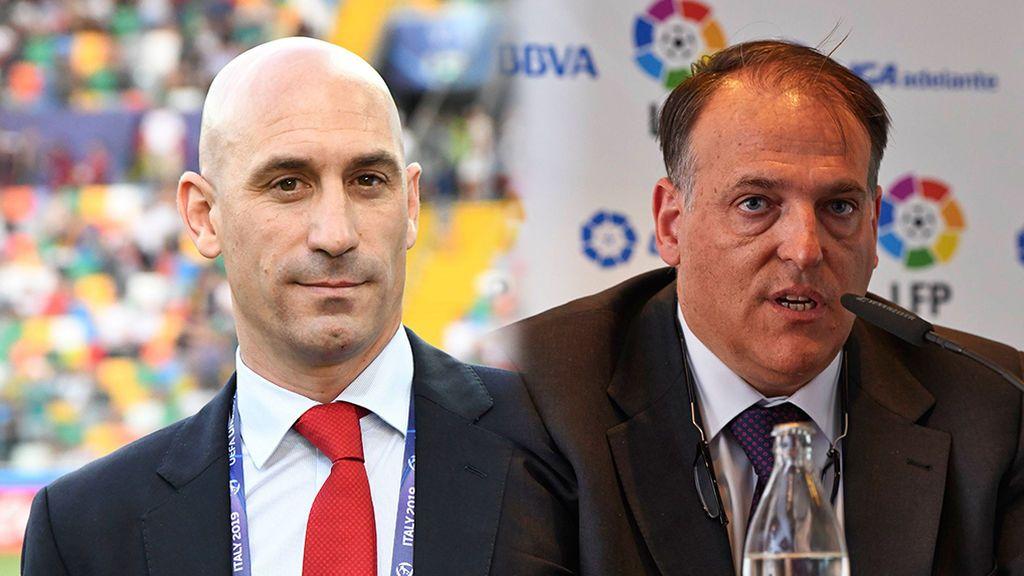"""La RFEF pide la dimisión de Tebas por poner """"en jaque al fútbol español"""""""