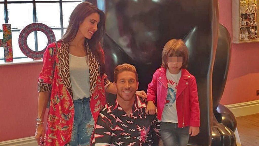 """Sergio, el hijo de Pilar Rubio y Sergio Ramos, muestra su habilidad comiendo con palillos: """"No se puede tener más arte"""""""
