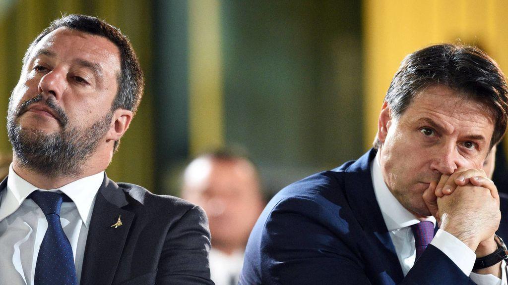 La Liga de Salvini presenta una moción de censura contra Conte tras la ruptura de la coalición