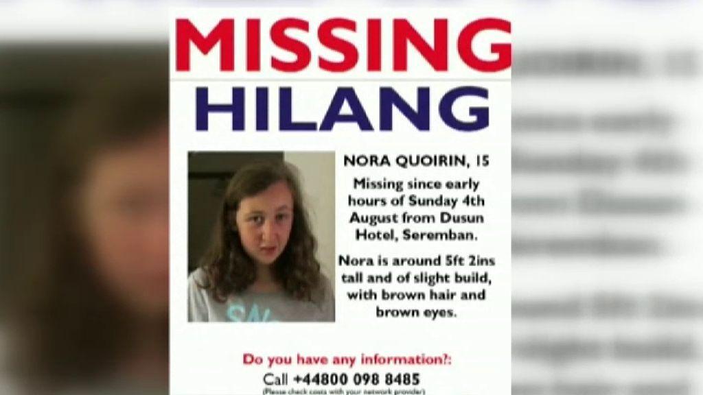 Usan la voz de la madre de la joven irlandesa de 15 años desaparecida en Malasia para buscarla
