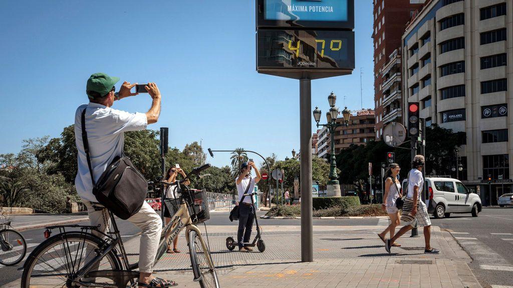 La Comunidad Valenciana se enfrenta a la temperatura más alta de su última década