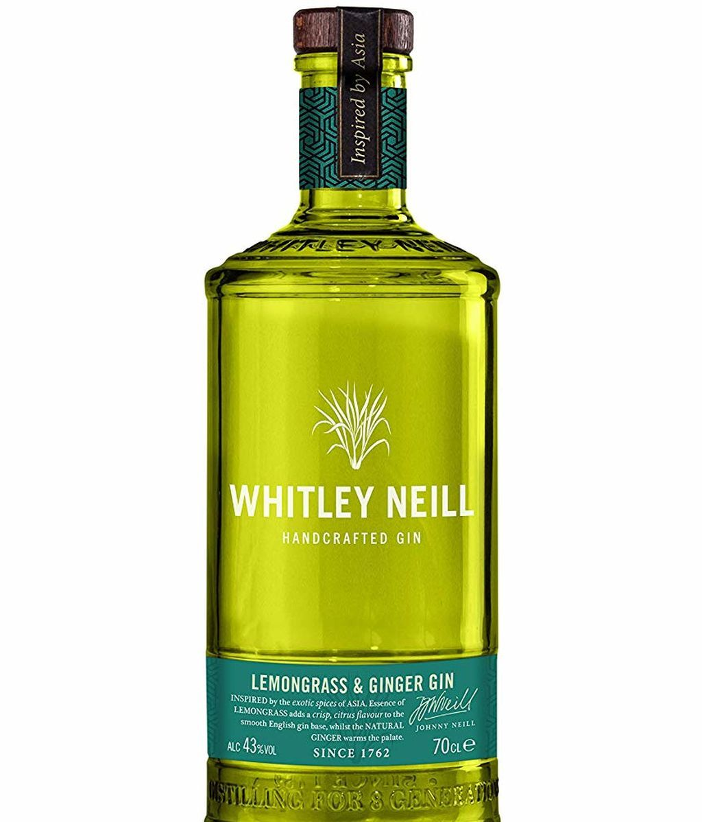 Whitley Neill Handcrafted Lemongrass and Ginger Gin