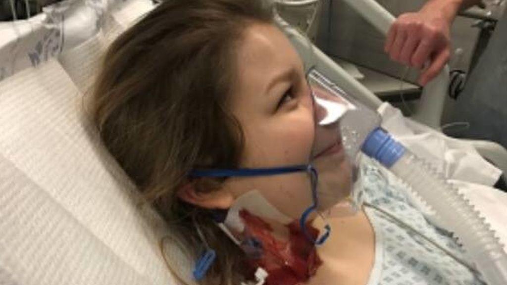 La campaña de una joven para denunciar los peligros de la píldora: sufrió un coágulo en los pulmones que casi acaba con su vida