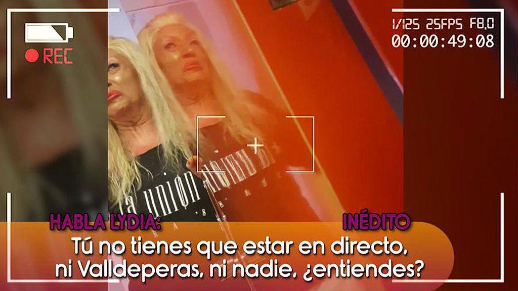 """¡Inédito! El 'brote' de Lydia lozano contra Ania Iglesias: """"¡Voy a ir hecha un adefesio!"""""""