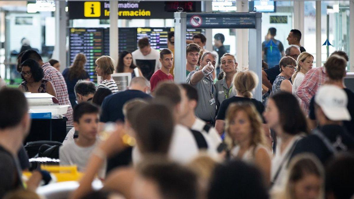 Los huelguistas del Aeropuerto de Barcelona critican a Trablisa, Aena y Guardia Civil