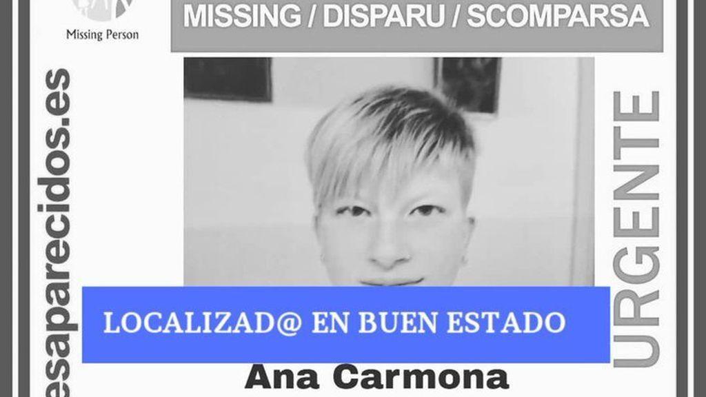 Localizada en buen estado la joven desaparecida desde mediados de semana en Atarfe