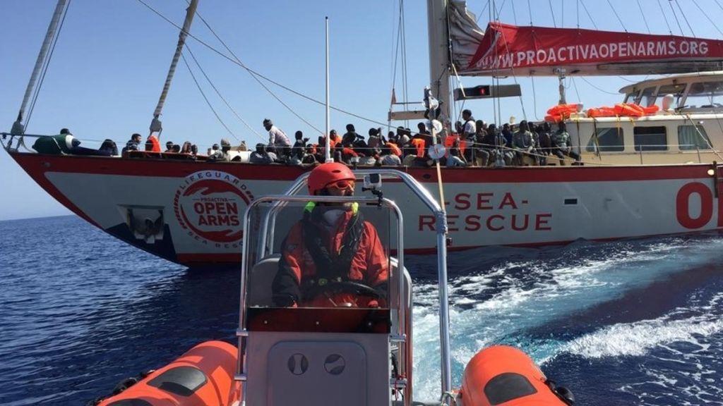 Open Arms obtiene permiso de Malta e Italia para evacuar a tres migrantes por motivos de salud