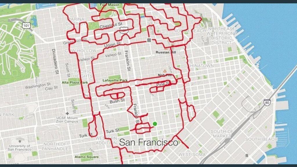 Obras de arte corriendo: la originalidad de este 'runner' ha conquistado a la Red