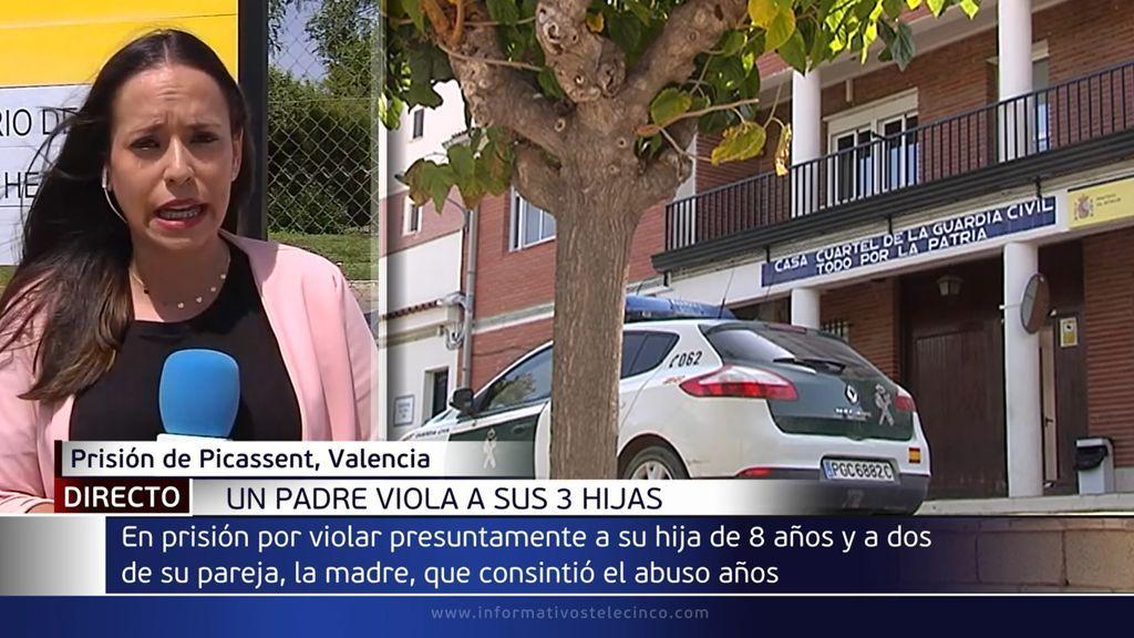 A prisión un hombre en Valencia por violar a sus tres hijas con el consentimiento de su madre