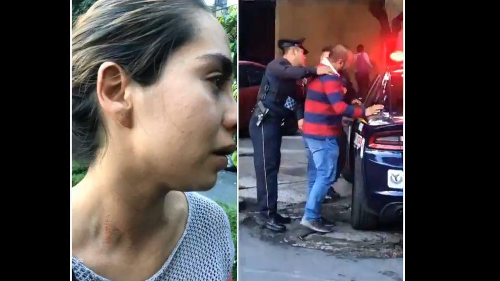 Un transeúnte evita que un hombre secuestre a una mujer en México y el hecho se hace viral