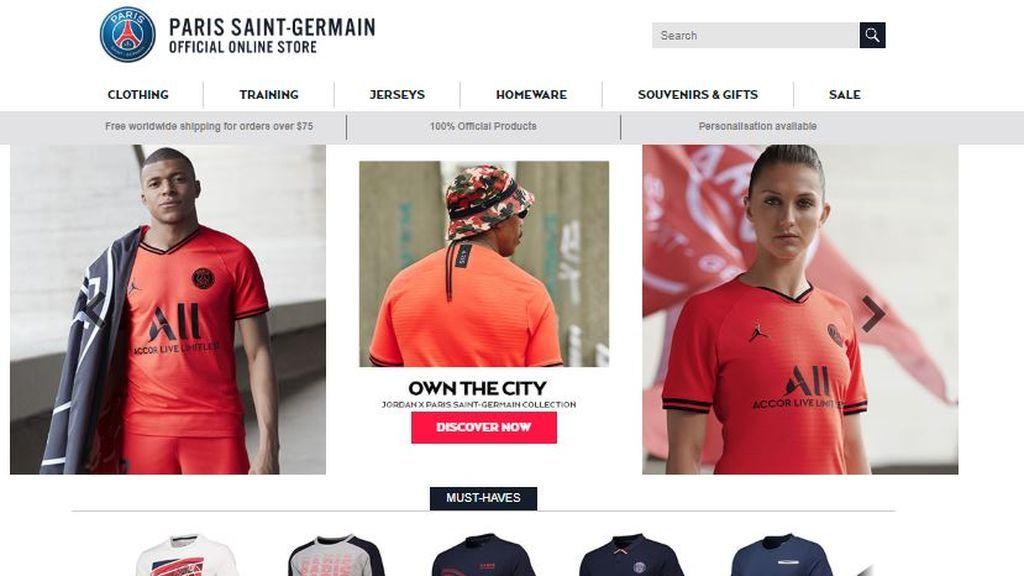 El PSG esconde a Neymar: sin rastro del brasileño en la tienda oficial del club ni tampoco en su web